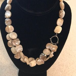 Silpada Jewelry - Silpada mother-of-pearl sterling silver necklace